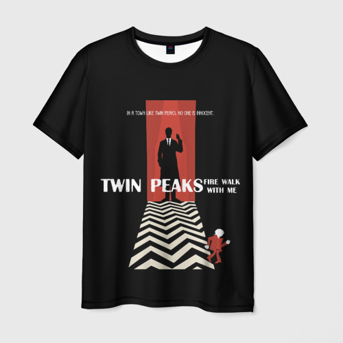Мужская футболка 3D Twin Peaks