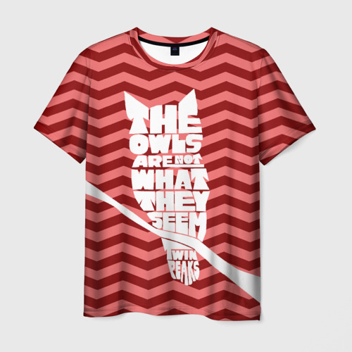 Мужская футболка 3D Owl