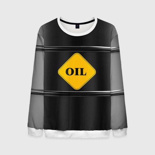 Мужской свитшот 3D Oil