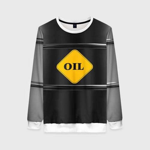 Женский свитшот 3D Oil