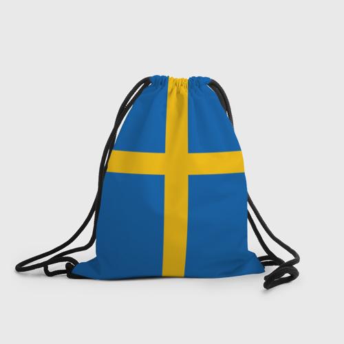 Рюкзак-мешок 3D Флаг Швеции
