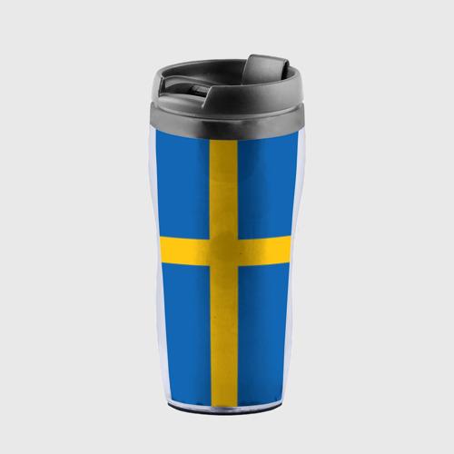 Термокружка-непроливайка Флаг Швеции