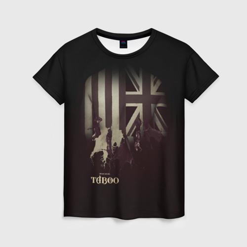 Женская футболка 3D Taboo