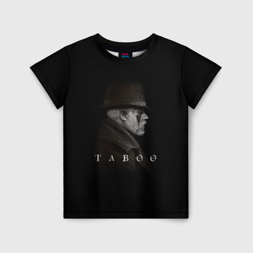 Детская футболка 3D Taboo