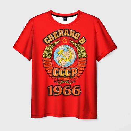 Мужская футболка 3D Сделано в 1966