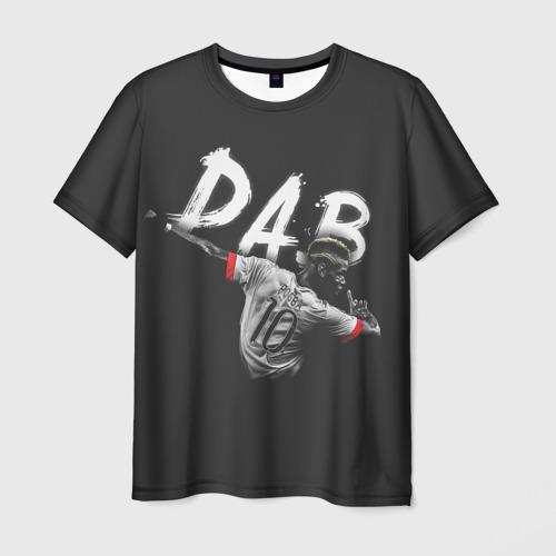 Мужская футболка 3D Поль Погба