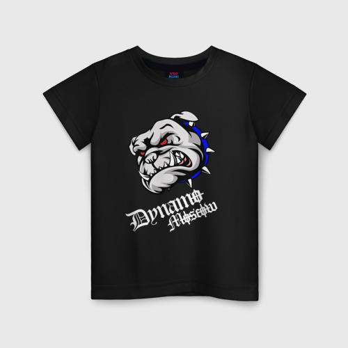 Детская футболка хлопок Бульдог
