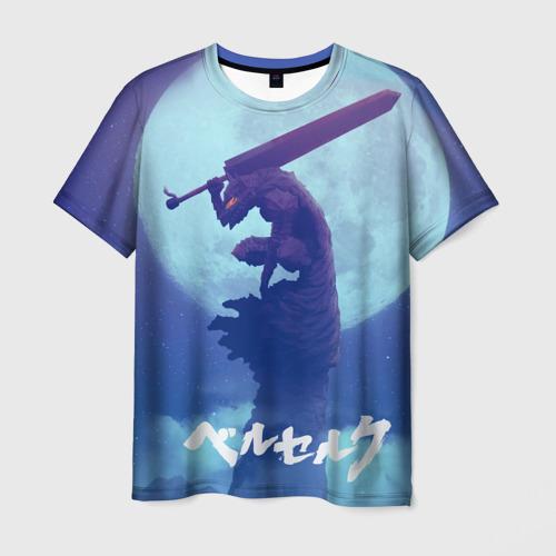 Мужская футболка 3D Берсерк