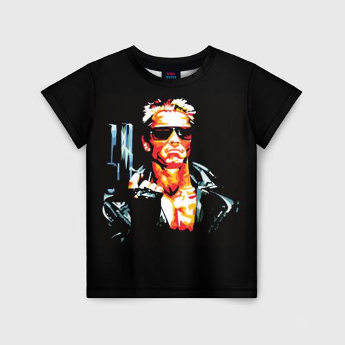 Детская футболка 3D Terminator Combat Sambo 3D