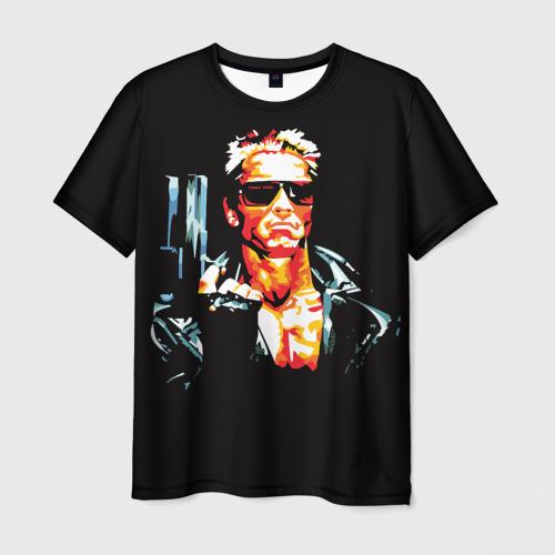 Мужская футболка 3D Terminator Combat Sambo 3D