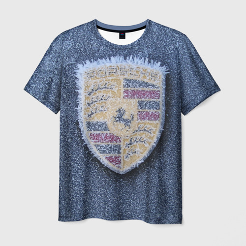 Мужская футболка 3D Зима