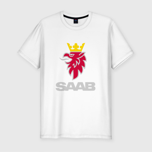 Мужская футболка хлопок Slim Saab