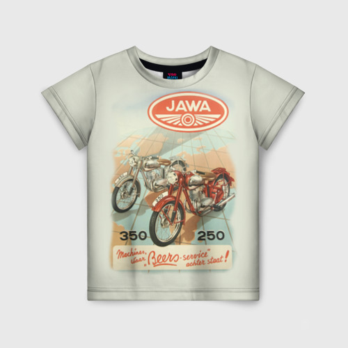 Детская футболка 3D JAWA
