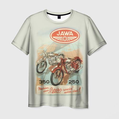 Мужская футболка 3D JAWA