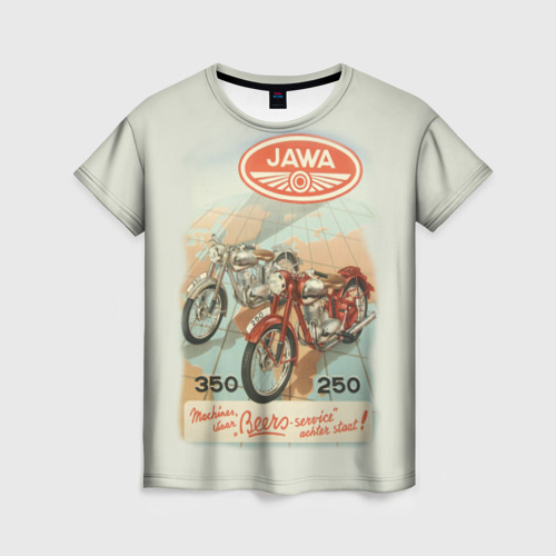 Женская футболка 3D JAWA