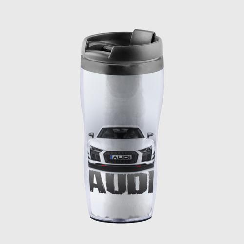 Термокружка-непроливайка Audi серебро