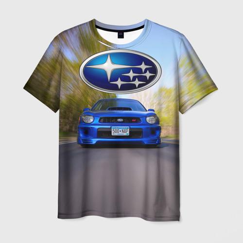 Мужская футболка 3D Road