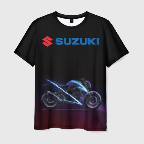 Мужская футболка 3D Suzuki