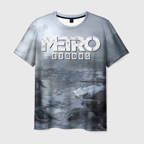 Мужская футболка 3D EXODUS