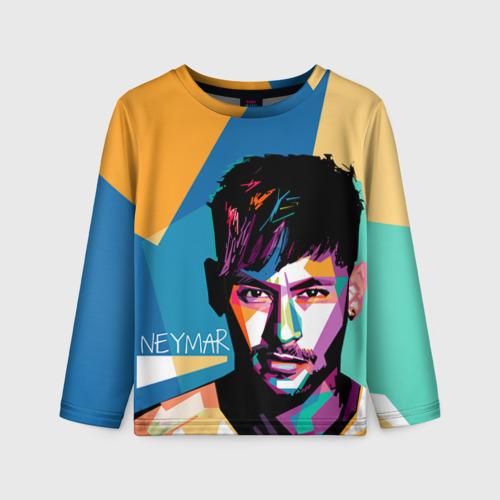 Детский лонгслив 3D Neymar