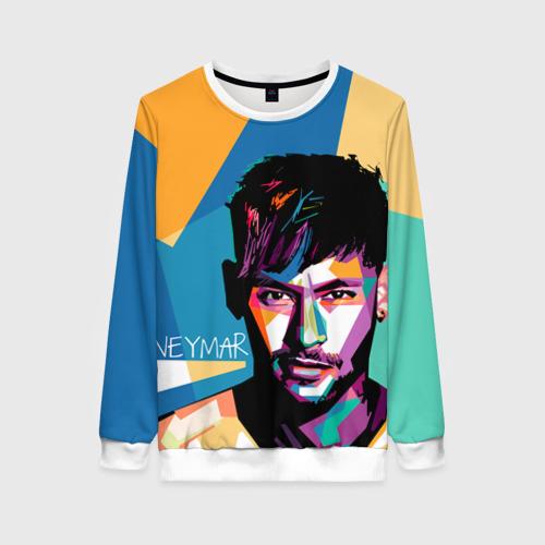 Женский свитшот 3D Neymar