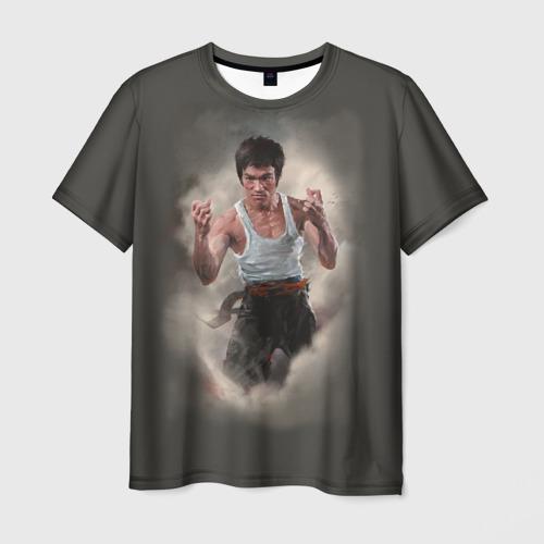 Мужская футболка 3D Брюс Ли