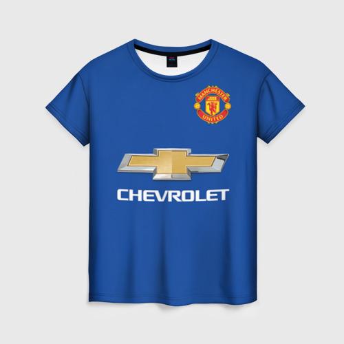 Женская футболка 3D Paul Pogba