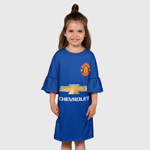 Детское платье 3D Paul Pogba