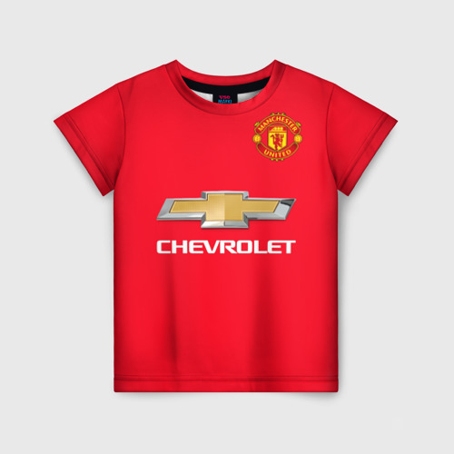 Детская футболка 3D MU форма Ибрагимович