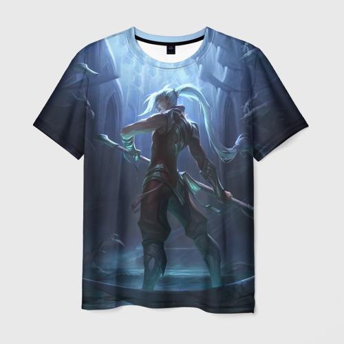 Мужская футболка 3D Back