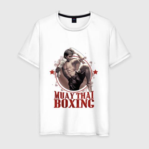 Мужская футболка хлопок Тайский бокс