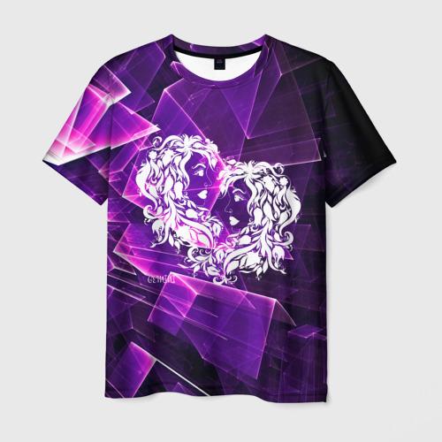 Мужская футболка 3D Близнецы