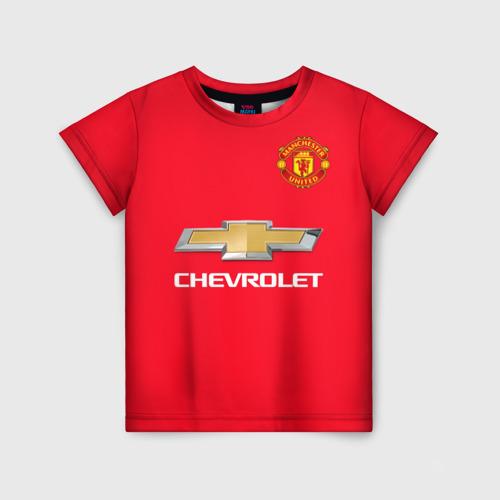 Детская футболка 3D Форма MU Rashford