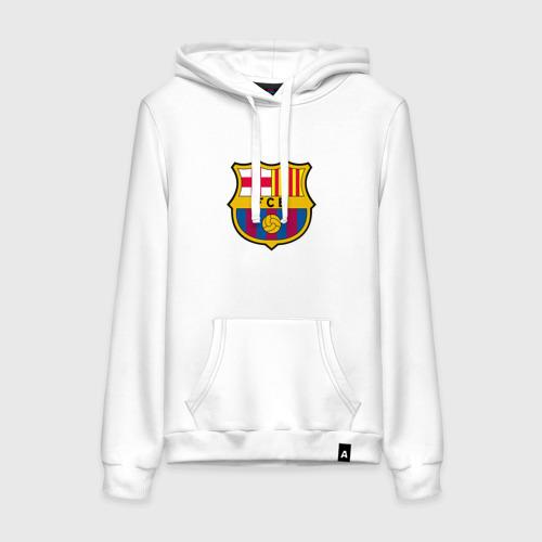 Женская толстовка хлопок ФК Барселона