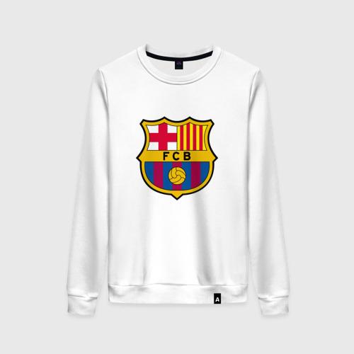 Женский свитшот хлопок ФК Барселона