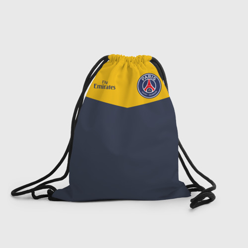 Рюкзак-мешок 3D Paris Saint-Germain - Navy Yellow (Collections 2018)