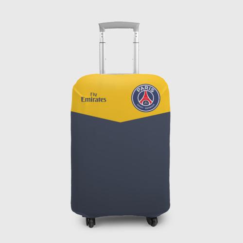 Чехол для чемодана 3D Paris Saint-Germain - Navy Yellow (Collections 2018)