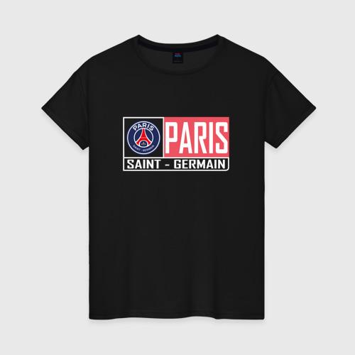 Женская футболка хлопок Paris Saint-Germain - New collections 2018