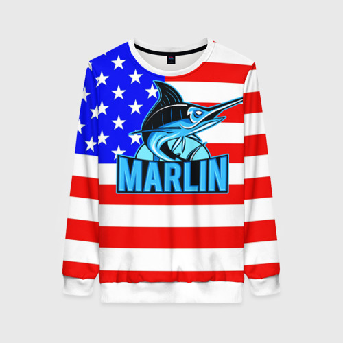 Женский свитшот 3D Marlin USA