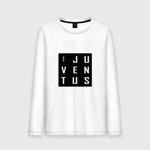 Мужской лонгслив хлопок Juventus - New Collections 2018