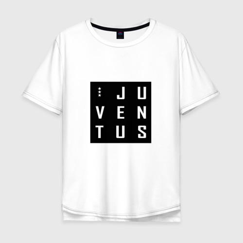Мужская футболка хлопок Oversize Juventus - New Collections 2018