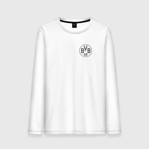 Мужской лонгслив хлопок Borussia Dortmund - Vintage style (New Collections 2018)