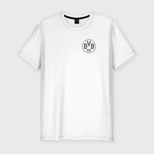 Мужская футболка хлопок Slim Borussia Dortmund - Vintage style (New Collections 2018)