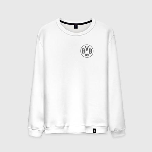 Мужской свитшот хлопок Borussia Dortmund - Vintage style (New Collections 2018)