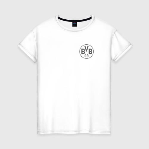 Женская футболка хлопок Borussia Dortmund - Vintage style (New Collections 2018)