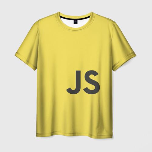 Мужская футболка 3D JavaScript