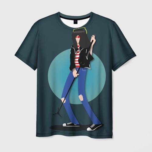 Мужская футболка 3D Джоуи