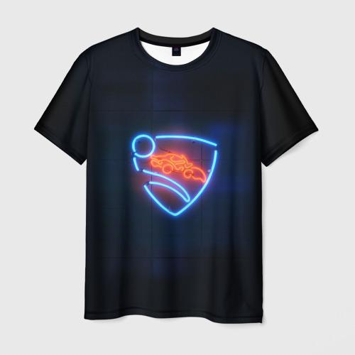 Мужская футболка 3D Rocket League
