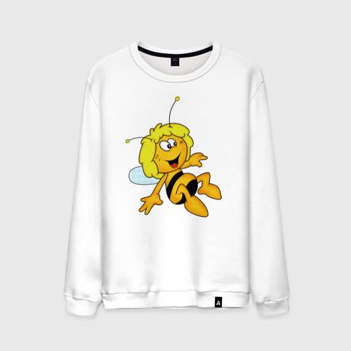 Мужской свитшот хлопок пчелка Майя