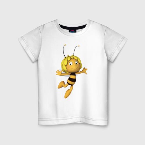 Детская футболка хлопок пчелка Майя